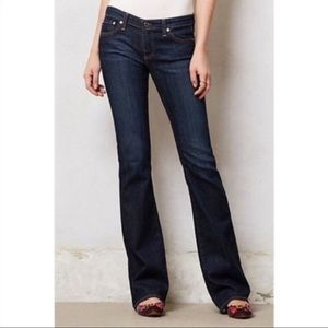 Ag Adriano Goldschmied Jeans the merlot 26 short